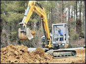 Mustang 8003 compact excavator