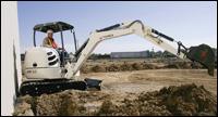 Terex HR3.7 compact excavator