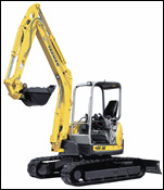Yanmar compact excavator