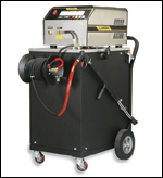 Landa's EHW hot water pressure washer