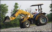 Challenger MT300B tractor loader