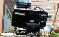 Loegering's Mud Bucket attachment for skid-steer loaders and track loaders