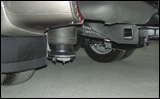 Air-bag rear suspension