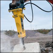 Atlas Copco SB hydraulic breaker attachment
