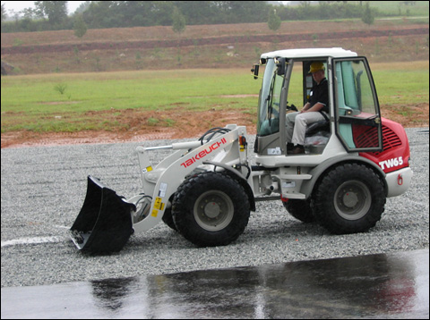 Takeuchi model TW65 compact wheel loader