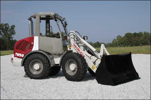 Takeuchi model TW50 compact wheel loader