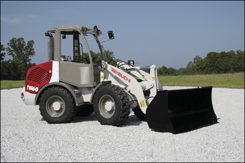 Takeuchi model TW60 compact wheel loader