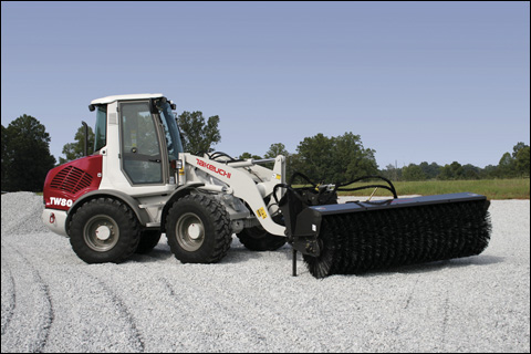 Takeuchi model TW80 compact wheel loader