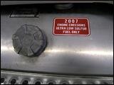 Reminder to use ultra-low sulfur diesel fuel