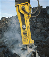 Atlas Copco HB 2500 hydraulic breaker