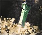 Ingersoll Rand hydraulic breaker