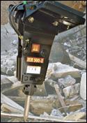 Huskie hydraulic breaker