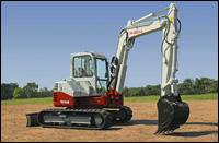 Takeuchi TB180FR excavator