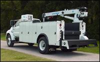 Auto Crane Titan 70 crane service body