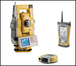 Topcon robotic total station