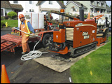 Ditch Witch horizontal directional drill (HDD)