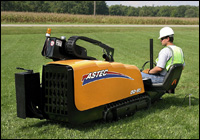 Astec EarthPro DD-65 MiniMax horizontal directional drill