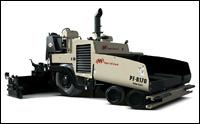 Ingersoll Rand PF-6170 tracked asphalt paver