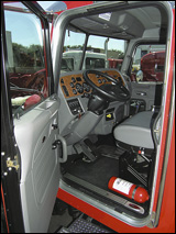 Cab of the 365 truck