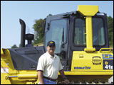 Butch McCaleb, sales and product support for Columbus Equipment