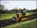 Dozer with automated grade-control system