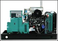 Cummins GGM series LP vapor-fueled generator set