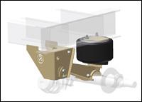Ridewell Suspensions' RAR-200 Narrow-Top trailer suspension