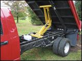 Rear frame on the Ram 3500