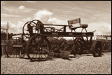 Russell horse-drawn pull-type grader