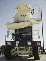 Terex FD3000 front-discharge mixer truck