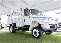 International 4200 truck
