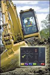 Leica's DigSmart 3D Excavator Guidance software