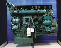 Volvo engine with Precision Flow EGR technology