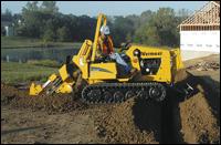 Vermeer RTX350 trencher
