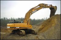 Case CX700 excavator