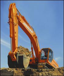 Doosan DX Series excavators