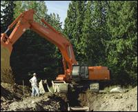 "Hitachi Zaxis ""Dash Three"" excavator"