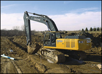 John Deere D-Series excavator