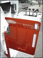 Elliott 32117 truck-mounted crane