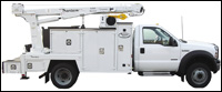 Maintainer utility crane