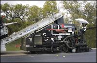Roadtec SP-200 asphalt spray paver