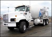 International PayStar 5000 Series concrete mixer truck