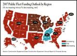 Illustration - 2007 Public Fleet Funding Outlook by Region