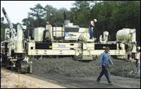 Guntert & Zimmerman concrete paver