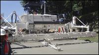 Terex Roadbuilding concrete paver