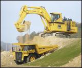 Komatsu PC2000LC-8 crawler excavator