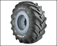 Michelin XMCL off-road radial tire