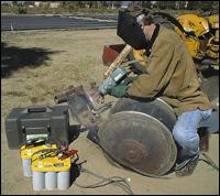 Broco Goweld portable welder
