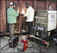 Lincoln Electric Vantage 400 welder
