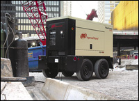 Ingersoll Rand PowerSource mobile generator